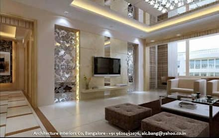 Designer Villa In Kerala: modern Houses by Architecture Interior Co. Pvt. Ltd