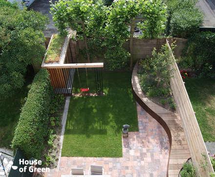 Moderne tuin idee n en inspiratie homify for Tuin inspiratie modern