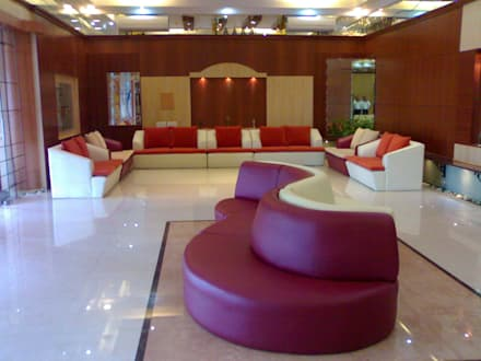 Glass House - Dharmasthala, : classic Media room by Architecture Interior Co. Pvt. Ltd