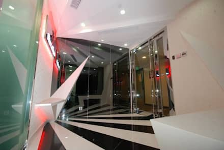 Reception Lobby.:  Offices & stores by Oui3 International Limited