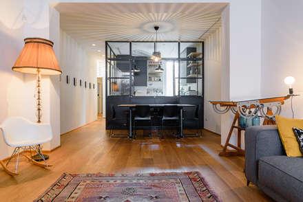 industrial Living room by NOMADE ARCHITETTURA E INTERIOR DESIGN