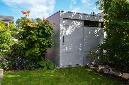 design Gartenhaus @gart zwei: moderner Garten von design@garten