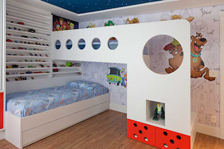 modern Nursery/kid's room by Link Interiores