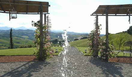 Giardini di campagna: Giardino in stile in stile Rustico di Lucio ...