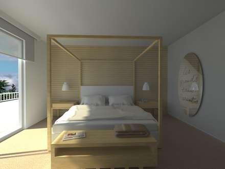 LIGHT BEDROOM: Hotel in stile  di Studio Frasson