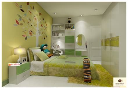 Neeras Kids Room: Nursery/kidu0027s Room By Neeras Design Studio