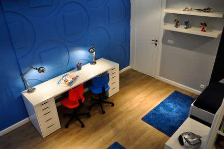 Wandpaneele Nr.05 LOFT DESIGN SYSTEM: moderne Kinderzimmer von Loft Design System Deutschland