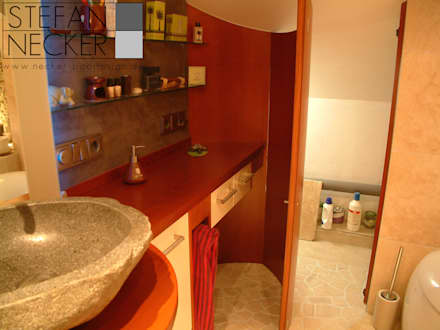 Mini_Spa: asiatische Badezimmer von Stefan Necker BadRaumKonzepte