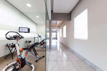 modern Gym by Arq. Bernardo Hinojosa
