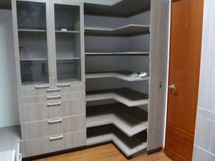 Closets de estilo minimalista por fabrè