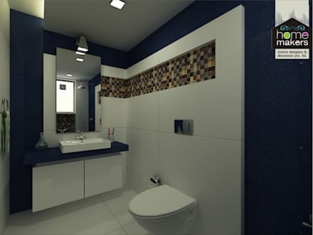 Kamar Mandi by home makers interior designers & decorators pvt. ltd.