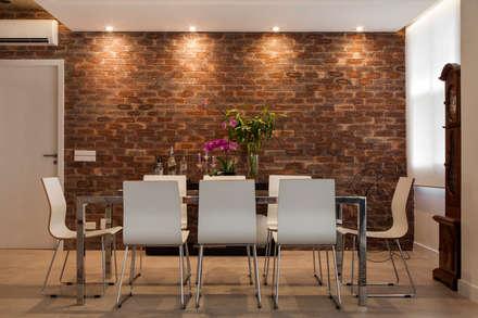 Sala de jantar: Salas de jantar modernas por AREA ARQUITETURA