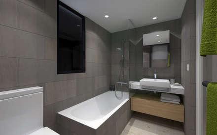 LT's RESIDENCE: minimalistic Bathroom by arctitudesign