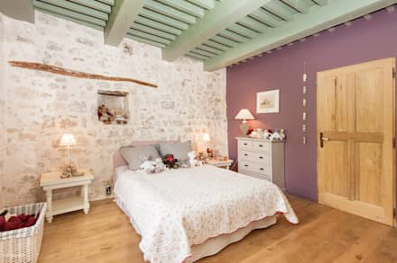 L'envers du décor: Chambre de style de style eclectique par Pixcity, Agence de photographie
