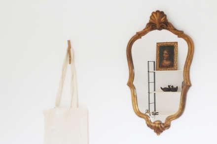 UNE CHAMBRE D'ADO DEVIENT UNE CHAMBRE D'AMIS: Chambre de style de style Minimaliste par Elsa Noblet