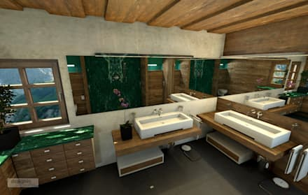 Das Landhaus Badezimmer: landhausstil Badezimmer von Art of Bath