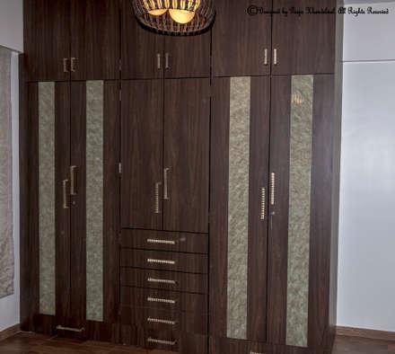 Residence -5: modern Houses by Instinct Designs