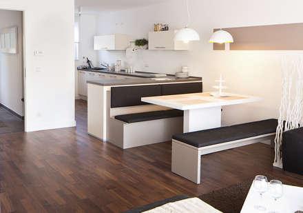 moderne esszimmer ideen inspiration homify. Black Bedroom Furniture Sets. Home Design Ideas