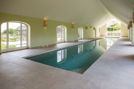 Double Award Winner - Engineering First Creates Super Energy Efficient Pool: minimalistic Pool by London Swimming Pool Company