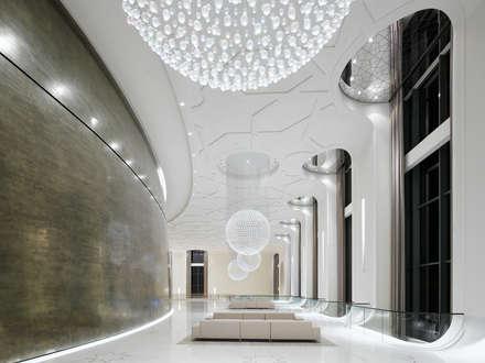 Palacios de congresos de estilo  por Baierl & Demmelhuber Innenausbau GmbH