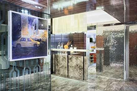 Literati Mansion | Guangzhou, China (ShowFlat):  Kitchen units by Another Design International