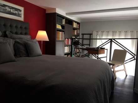 Appartement centre ville Montpellier: Chambre de style de style Moderne par WM