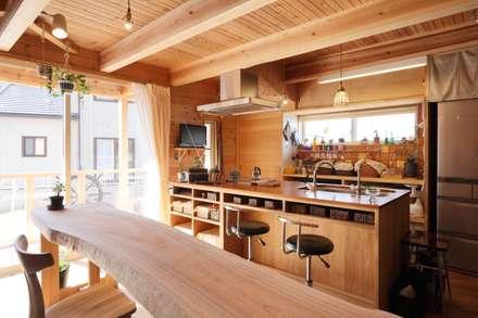 home sweet home: ATELIER TAMAが手掛けたキッチンです。