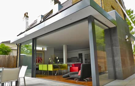 Ground floor rear & side extension in a Conservation Area, East Molesey, London: modern Conservatory by VCDesign Architectural Services