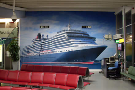 Wall Art 1:  Airports by Universal Graphix