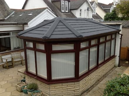 After: classic Conservatory by Ploughcroft
