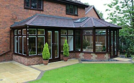 After: modern Conservatory by Ploughcroft