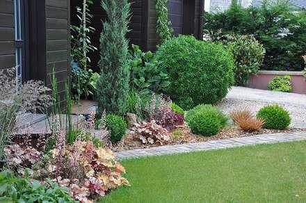 Jardin en Essonne: Jardin de style de style Moderne par  Sophie Durin | Empreinte Paysagère