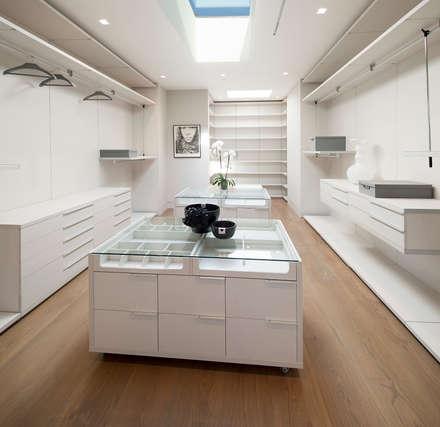 modern Dressing room by McClean Design
