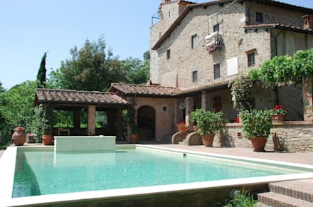 Piscina Privata - Montecatini Alto (PT): Piscina in stile in stile Eclettico di culligan piscine