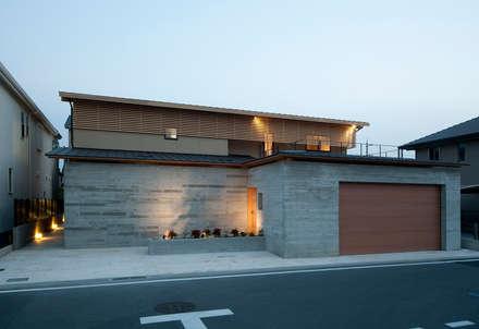 Facade: 一級建築士事務所 Kenso Architectsが手掛けた家です。