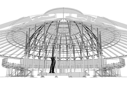 Arboreal Lightning:  Stadiums by Atmos Studio