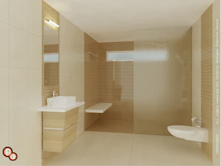 Bathroom design ideas inspiration pictures homify for Bathroom interior design pakistan
