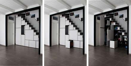 casa DIEMME: Soggiorno in stile in stile Moderno di ellevuelle  architetti