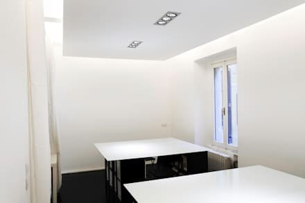 White Office: Stadi in stile  di PLANAIR ®