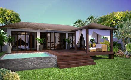Casas de estilo topical por AC architecture