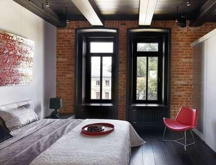 Aménagement d'un appartement : Chambre de style de style Industriel par DIMITRI-LOBIKOV