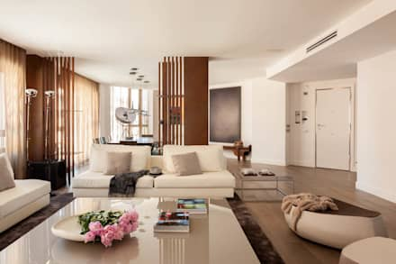 Salón: Salones de estilo moderno de ESTER SANCHEZ LASTRA
