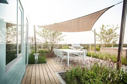 Moderne balkons verandas en terrassen homify