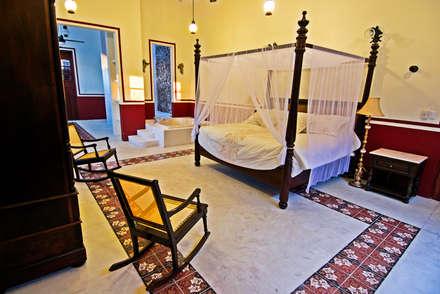 Phòng ngủ by Arturo Campos Arquitectos
