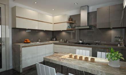 BWorks  – BM HOUSE: modern tarz Mutfak