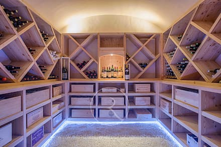 country Wine cellar by Sandrine RIVIERE Photographie