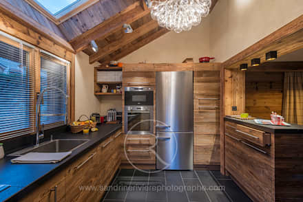 rustic Kitchen by Sandrine RIVIERE Photographie