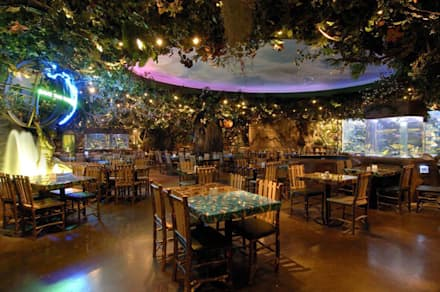 Restaurantes de estilo  por Paker Mimarlık