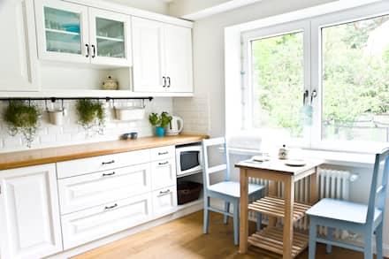 Dom jak z bajki.: styl , w kategorii Kuchnia zaprojektowany przez Miśkiewicz Design