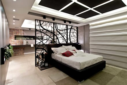 eclectic Bedroom by ArchDesign STUDIO